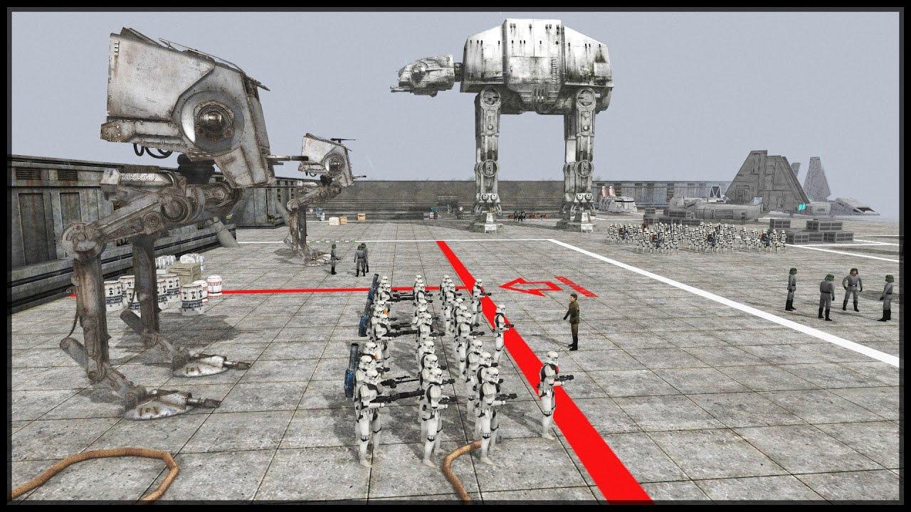 IMPERIAL BASE DEFENSE - Star Wars Mod - Men Of War ...
