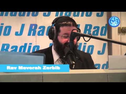 Radio J - Recevez le Chabbat avec Rav Mevorah Zerbib - 613TV