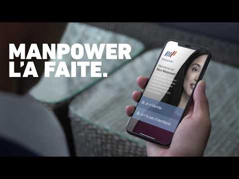 Notre appli mobile Mon Manpower évolue : téléchargez-la vite !