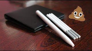 Это худший товар от XIAOMI В 2018 году.Шариковая ручка Xiaomi Mi Pen.Посылка из Китая, Обзор