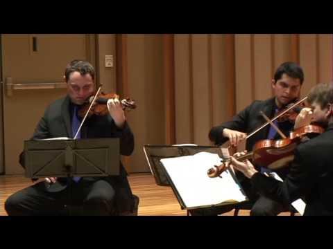 Calidore String Quartet - Schubert Quartettsatz D. 703
