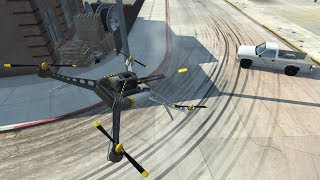 BeamNG.drive - DH Experimental Quadcopter