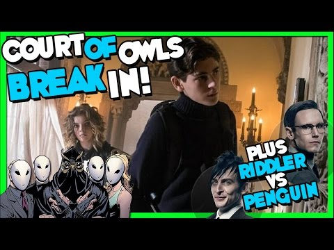 "Court of Owls Break In! Gotham Season 3 Episode 11 ""Beware the Green-Eyed Monster"" Trailer Breakdown"