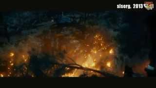 """Эпизод фильма """"Хоббит-1. Нежданное путешествие"""" и песня """"Гори, гори ясно"""" (группа """"Алатырь"""")."""