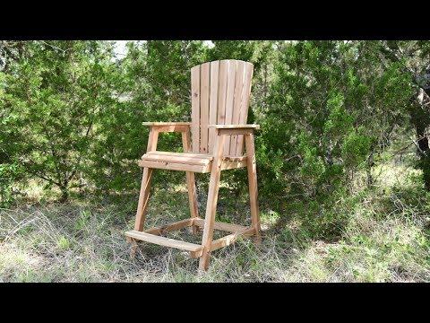 Build an Adirondack Chair