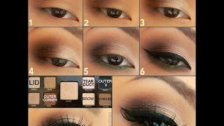 Простой свадебный макияж для карих глаз