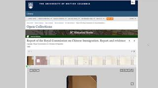 UBC Open Collections: How to Search