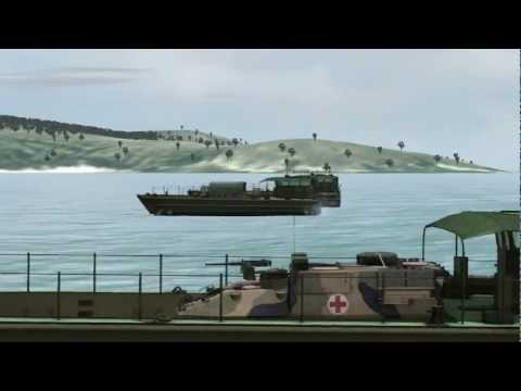 VBS2 - Amphibious operations, Pacific 2012