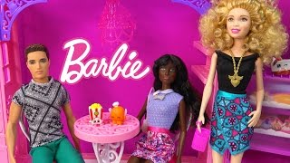 Barbie Dolls Fashionistas Ken Ryan New 2015 Doll Toy Review Unboxing Video Cookieswirlc