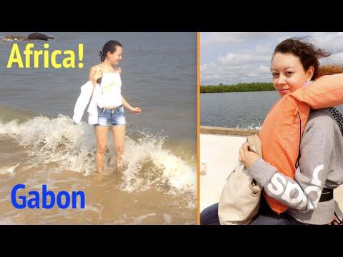 My trip to Nyonié (Gabon, Africa) / Mon voyage à Nyonié (Afrique)