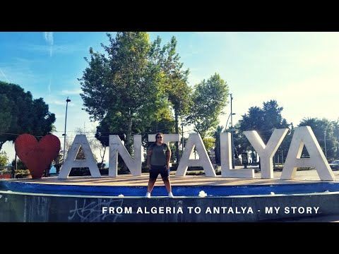 [#Travel Vlog Turkey] FROM #ALGERIA TO #ANTALYA !  || من #الجزائر إلى أنطاليا