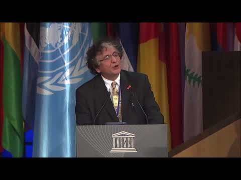Bedri Baykam's Speech at the 39th UNESCO General Conference