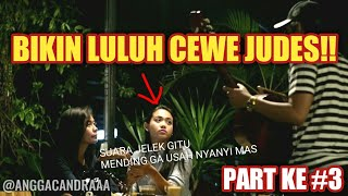 CEWE JUDES INI BAPER, MELELEH, LULUH SETELAH DENGAR SUARA ASLI  PENGAMEN INI #SINGINPUBLIC PART #3