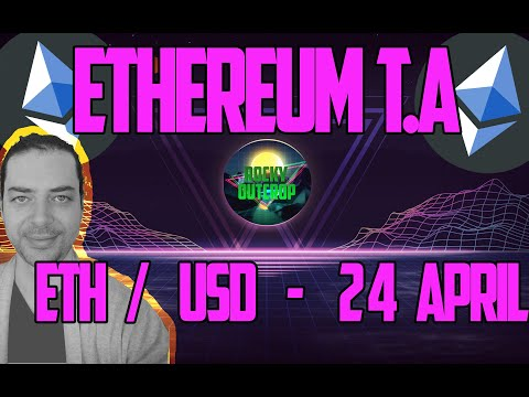 Ethereum (ETH/USD) - Daily T.A With Rocky Outcrop - April 24 Technical Analysis & Price Predictions