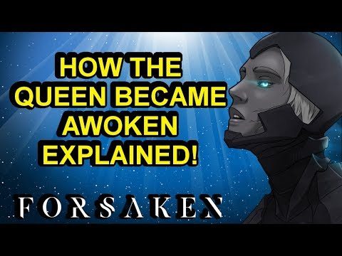 The Creation of the Awoken Explained! Destiny 2 Forsaken Lore | Myelin Games