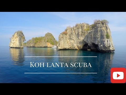 Thailand Travel 2016, diving in Koh Lanta GoPro