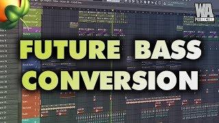 Future Bass Conversion | FL Studio Template (+ Samples, Stems & Presets)