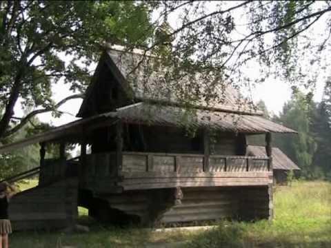 Russische Blockhäuser alte holzhäuser in russland