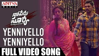 Yenniyello Yenniyello  Video Song | Naa Peru Surya Naa Illu India Songs | Allu Arjun, Anu Emannuel