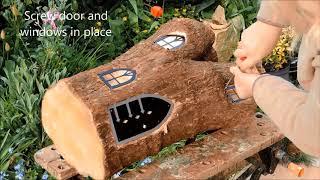 Devon fairy house DIY tutorial