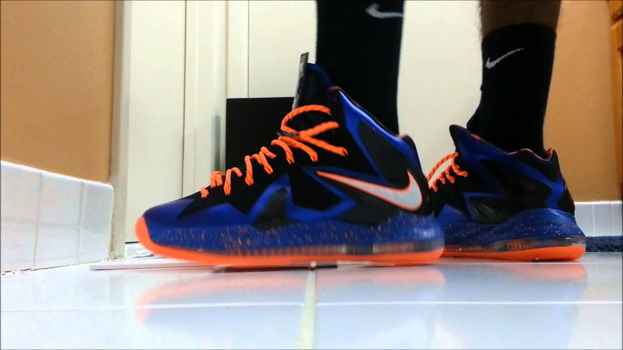 b4951c6b2eb Lebron X Elite Superhero On Feet - YouTube