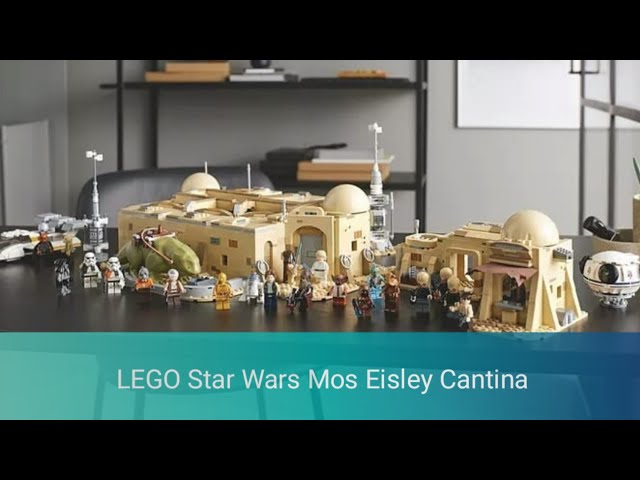 LEGO 75290 Star Wars Mos Eisley Cantina Preview