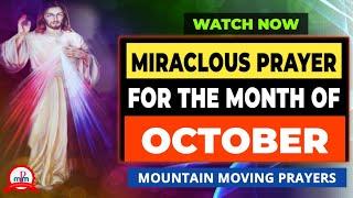 Powerful Catholic Morning Prąyer October 2021 ♥️Heartfelt Prayer♥️ DON'T MISS THIS BLESSING🔥