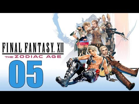 Final Fantasy 12 The Zodiac Age - Let's Play Part 5: The Palace