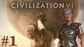 Civilization 6 - Rome Playthrough ep. 1