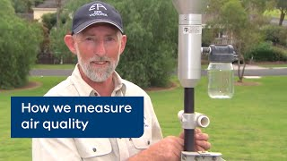 How we measure air quality