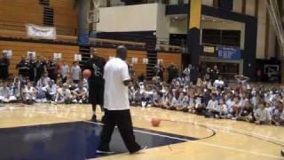 Hall of Famer Michael Jordan at Flight School 2009 thumbnail