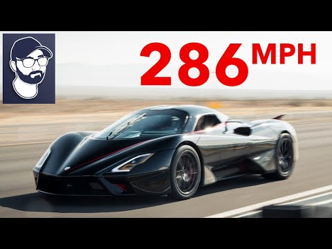 SSC TUATARA HITS 286 MPH! *NEW WORLD RECORD VIDEO*