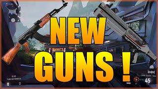 ak 47 cel 3 cauterizer en multijoueur sur advanced warfare new guns coming soon