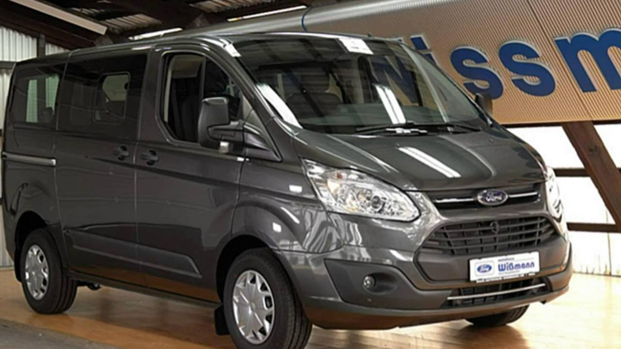 "2016 Ford Transit >> Ford Transit Custom Trend TTG1GD26096 Magnetic Grau ""AUTOHAUS WISSMANN"" - YouTube"