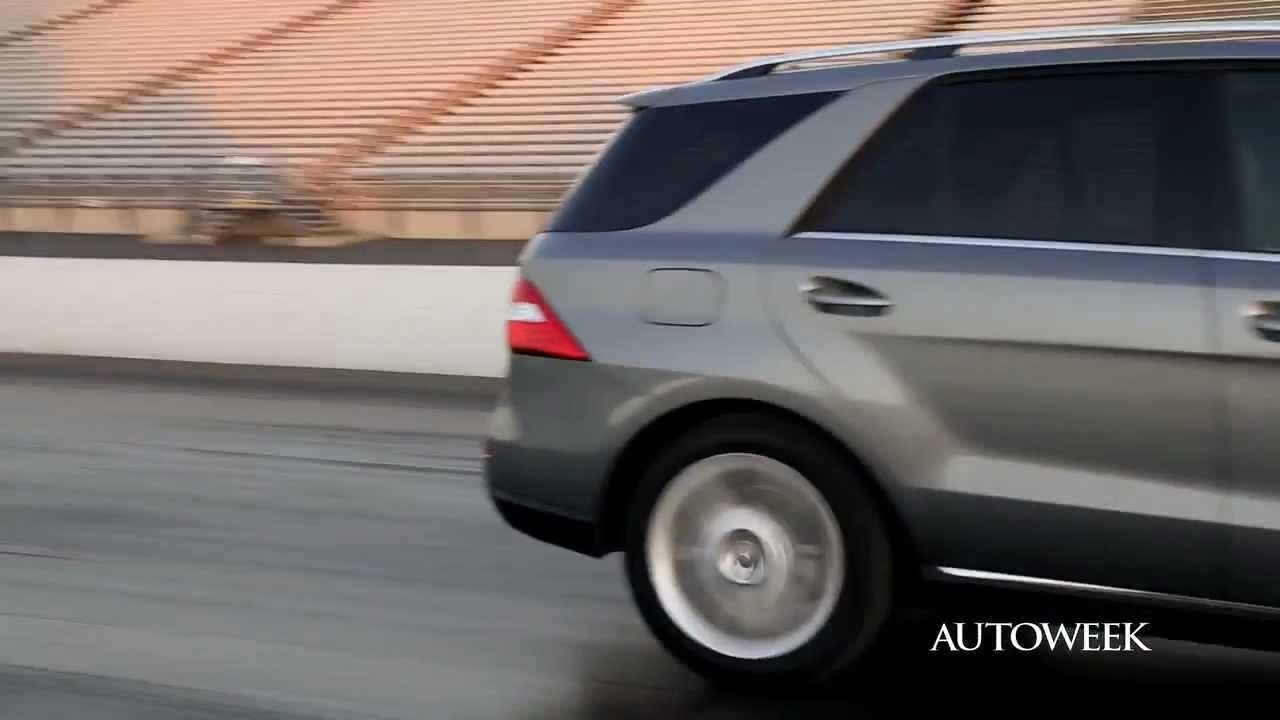2012 Mercedes Benz Ml350 Review Autoweek Autofile Video