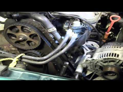 VW Timing Belt Oil Seal DIY Golf Cabrio Jetta (2 of 4) - YouTube