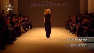 Показ    JULIYA PEREKRIOSTOVA, Ukrainian Fashion Week, Осень Зима 2016 17