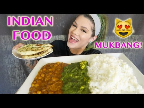 INDIAN FOOD MUKBANG!! [EATING SHOW]
