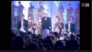 "Take That perform ""Back for Good"" for the first time at the 1995 BR..."