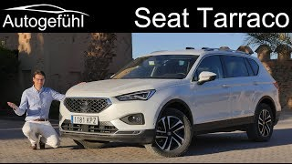 Seat Tarraco FULL REVIEW Xcellence with desert offroad drive