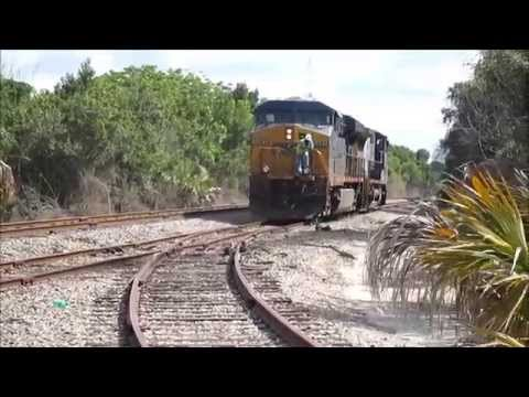 West Central Florida Railfanning, Tampa Edition, feat. Neve Spur Action, Monday 4/14/14