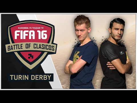 Battle Of Clasicos #2 ''Turin Derby'' Kazooie94 vs TouzaniTV | FIFA 16