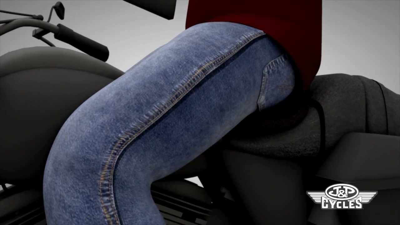 Airhawk Seat Pad For Your Motorcycle Overview Video U2022 Shop Ju0026P Cycles    YouTube