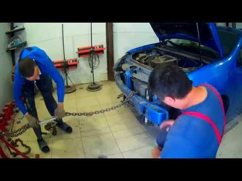 Рено Логан ремонт кузова