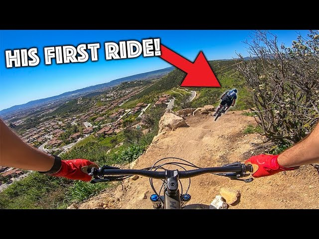 BEGINNER VS INTENSE MTB TRAIL!