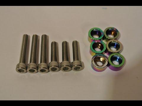 JDM Honda VTEC Solenoid Aluminum Cup Washer B/D/H/F Series