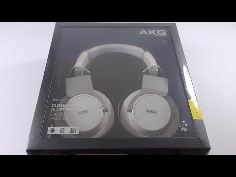 First Look: AKG K845BT Wireless Headphones
