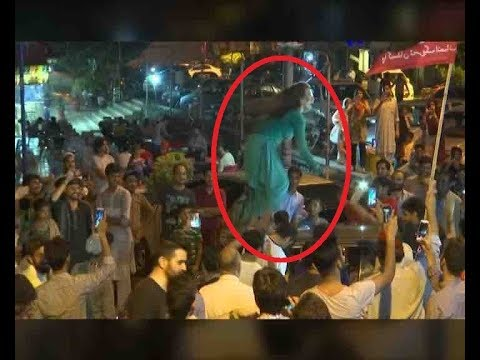 Fan of Imran Khan dances atop car in Pakistan; Video goes Viral