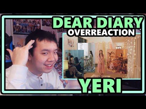 [SM STATION 3] - YERI [예리] - Dear Diary [스물에게] MV OVERReaction [THE TALENTTTT]
