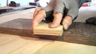 3 HG水性SIKKENS漆塗裝板 木皮90度直角砂磨漆面不受影響 1 MTS 512647